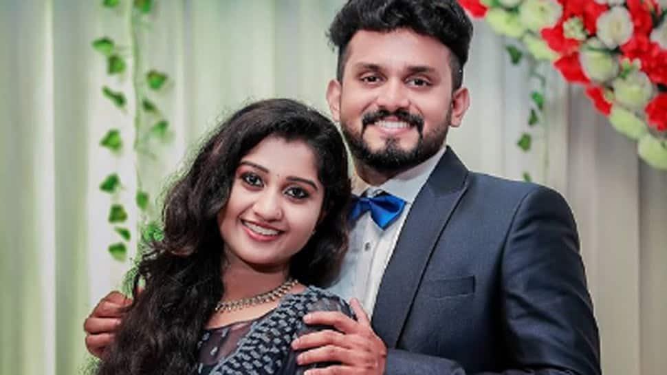 South actress Anaswara Ponnambath gets engaged to Dinshith Dinesh, pics go viral!