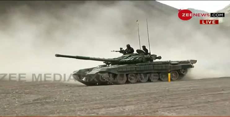 India deploys T-90 Bhishma tank in Ladakh amid border row with China at LAC
