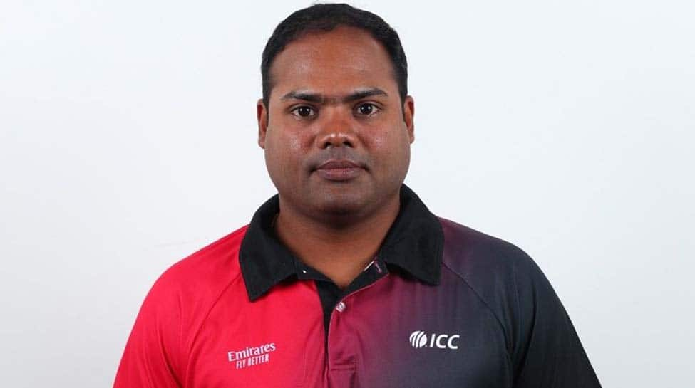 India's Nitin Menon becomes youngest umpire to be named in Emirates ICC Elite Panel