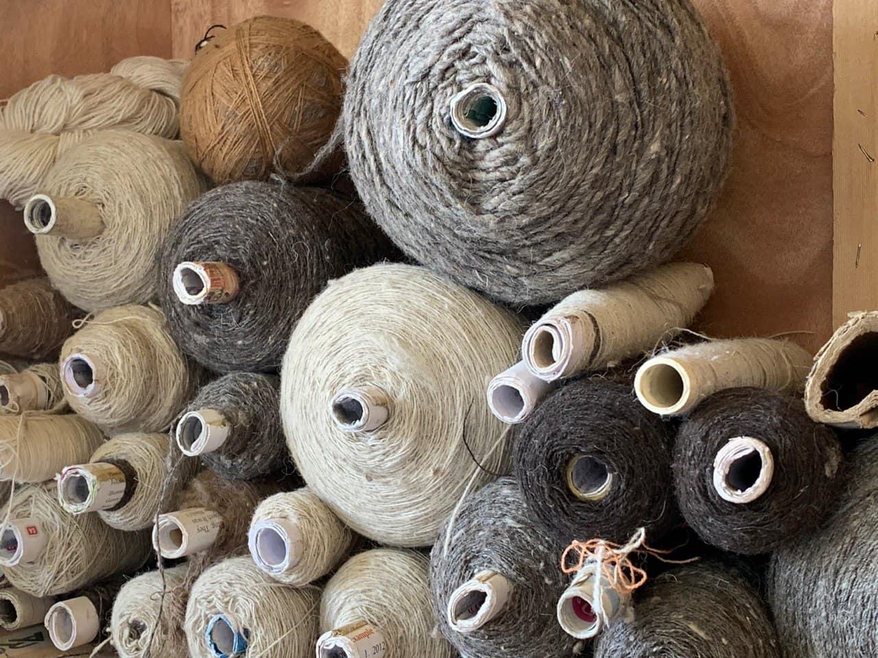 Woollen material