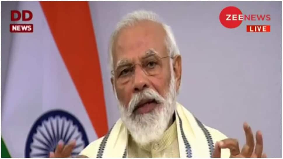 Working on bringing One Nation One Ration Card, says PM Modi