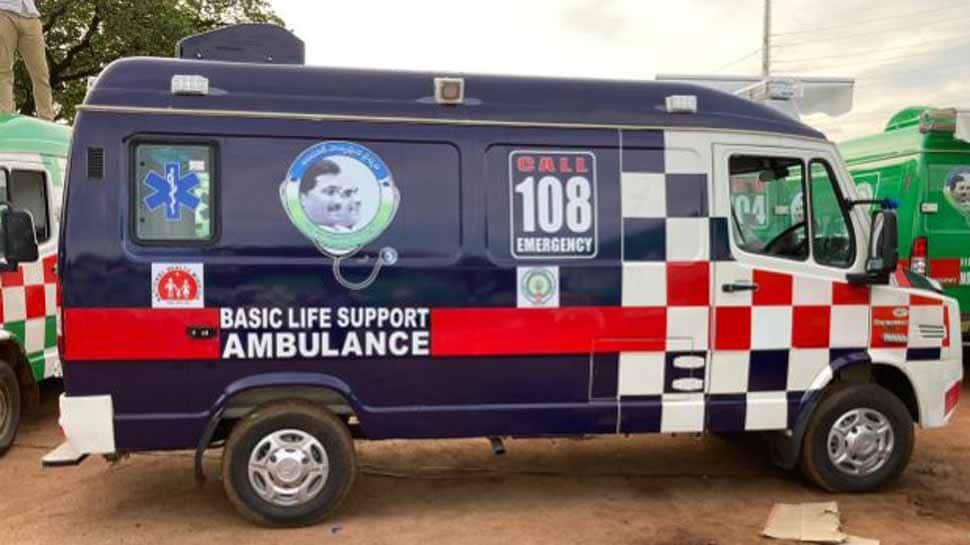 Andhra Pradesh chief minister YS Jagan Mohan Reddy rolls out 1,088 ambulances in Vijayawada shortly