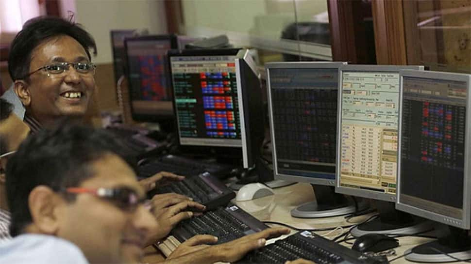Sensex surges over 197 points in early trade; Nifty tests 10,350