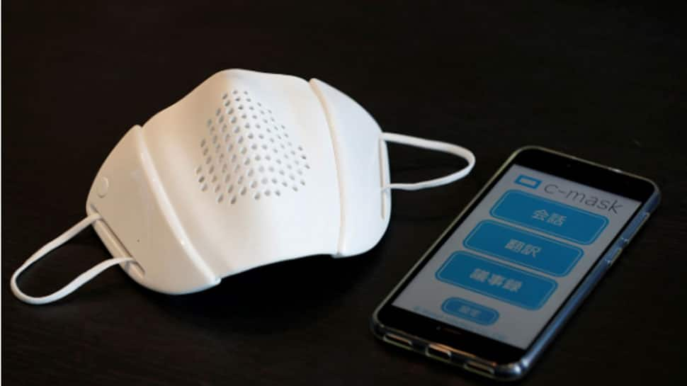 Japanese startup Donut Robotics creates c-mask with bluetooth connectivity for smartphone, tablet | Technology News