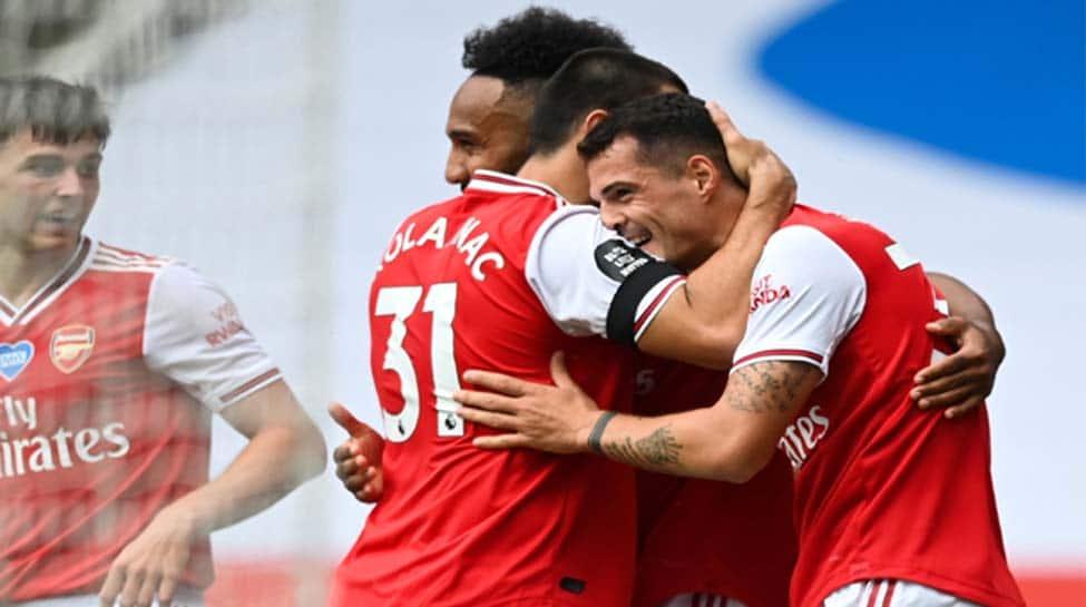 Pierre-Emerick Aubameyang shines as Arsenal thrash Norwich City 4-0 in Premier League