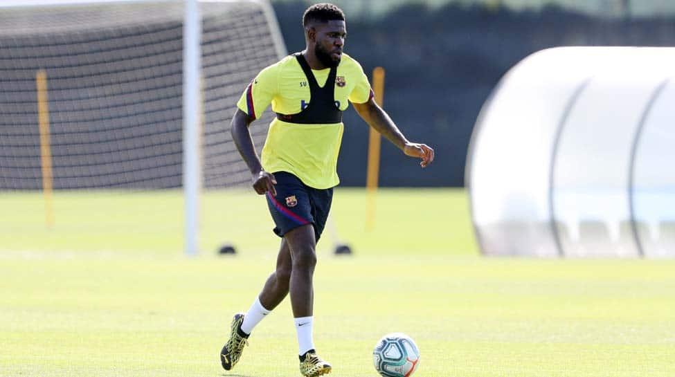 Barcelona defender Samuel Umtiti sidelined with knee injury