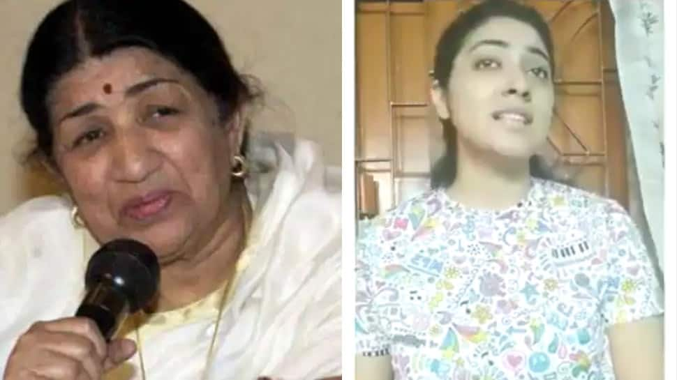 Trending: Lata Mangeshkar posts viral video of girl singing Mozart's 40th symphony in Indian classical style - Watch