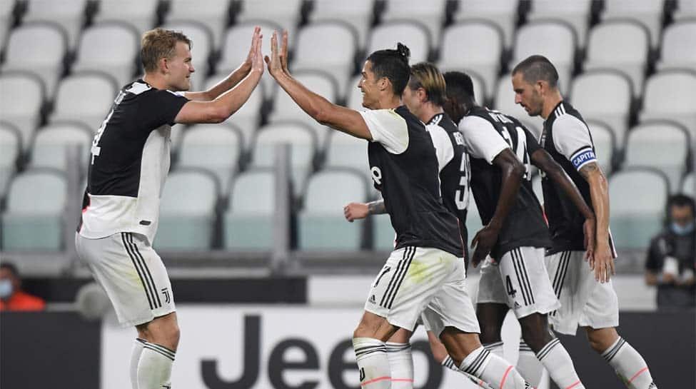 Serie A: Cristiano Ronaldo's penalties salvage 2-2 draw for Juventus against Atalanta