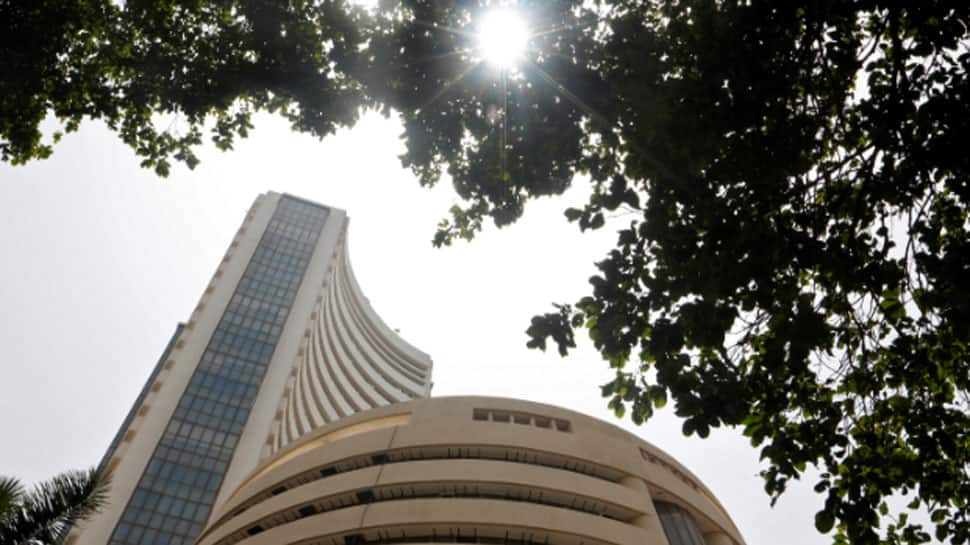 Sensex soars 336 points, Nifty above 10,860 in early trade