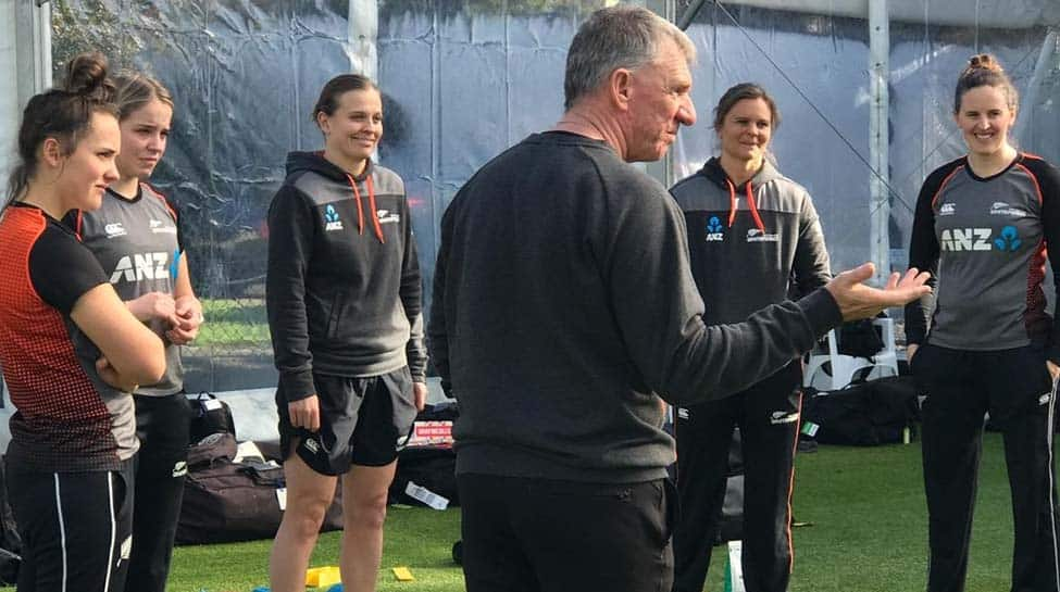 New Zealand women's cricket team begins first training camp post lockdown