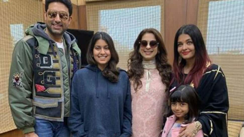 Juhi Chawla deletes confusing 'Ayurveda' tweet for Bachchans after massive trolling, later explains it wasn't a typo but...