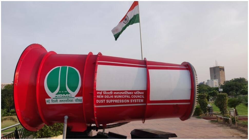 NDMC introduces 'Anti Smog Gun' to reduce pollution level in Delhi