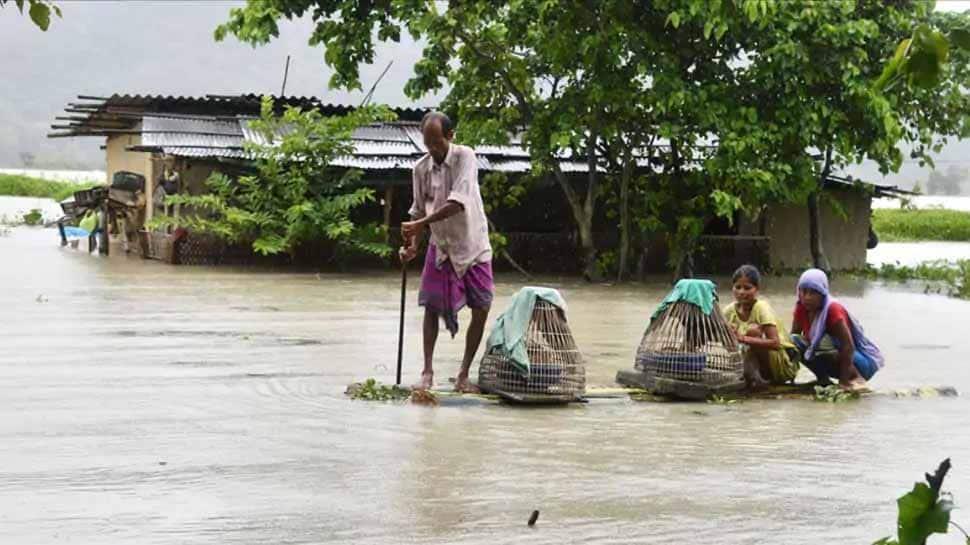 Assam floods death toll rises to 84, CM Sonowal announces Rs 4 lakh ex gratia