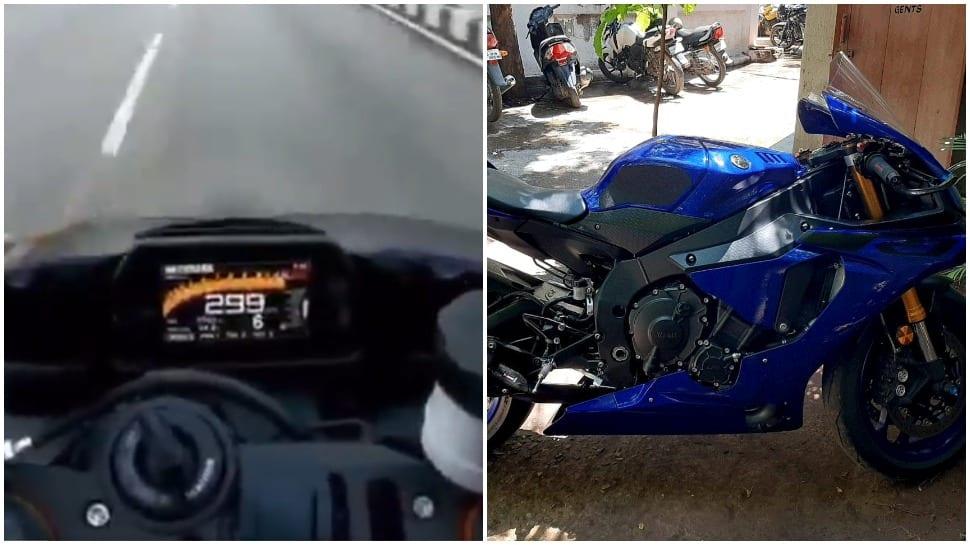 Bengaluru biker riding at almost 300 kmph arrested for high-speeding, bike seized