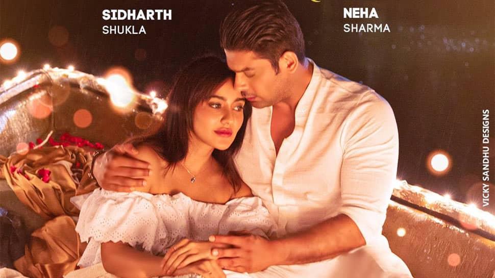 Sidharth Shukla-Neha Sharma spill romance on new poster of 'Dil Ko Karaar Aaya'!