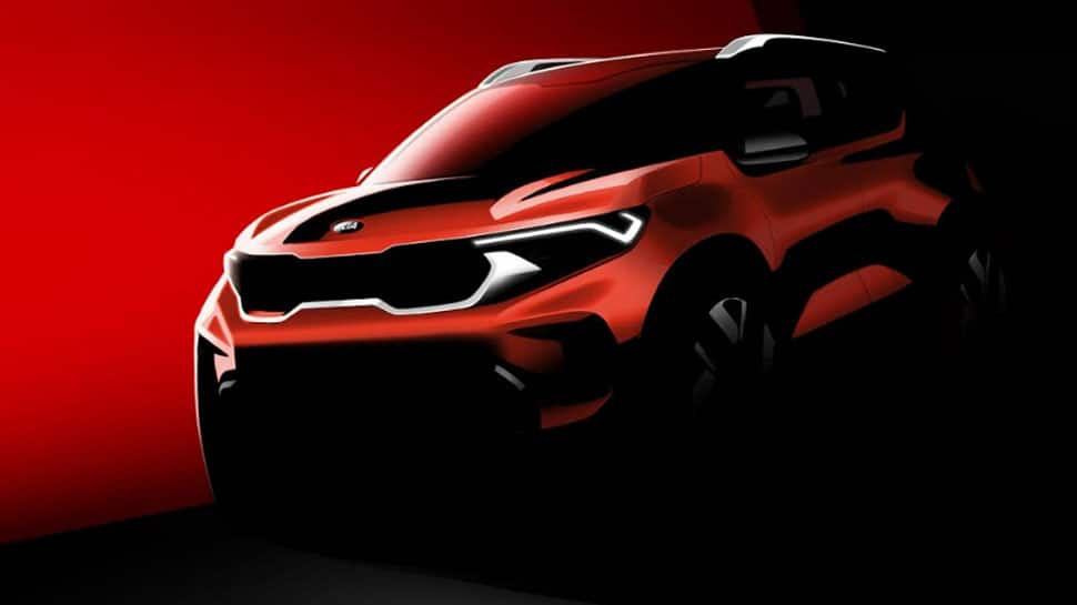 Kia Sonet compact SUV officially teased; oozes bold, powerful and distinctive design DNA