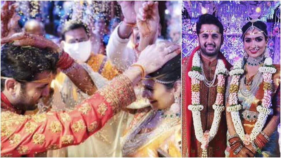 Telugu actor Nithiin gets married to Shalini in Hyderabad, see dreamy wedding pics