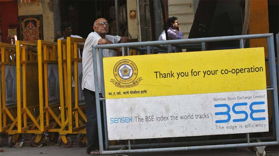Sensex slips 194 points, Nifty close at 11,132 in choppy trade