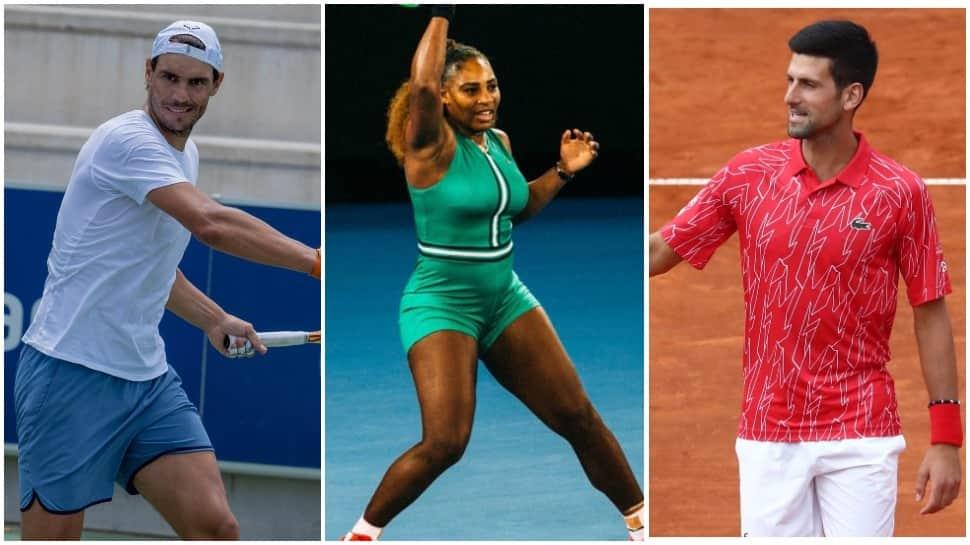 Serena Williams, Rafael Nadal, Novak Djokovic named in 2020 Western & Southern Open players list