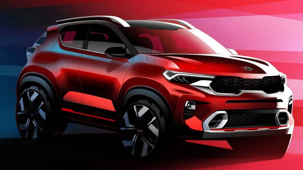 Kia Sonet compact SUV official pictures released– Check out interior and exterior pics here