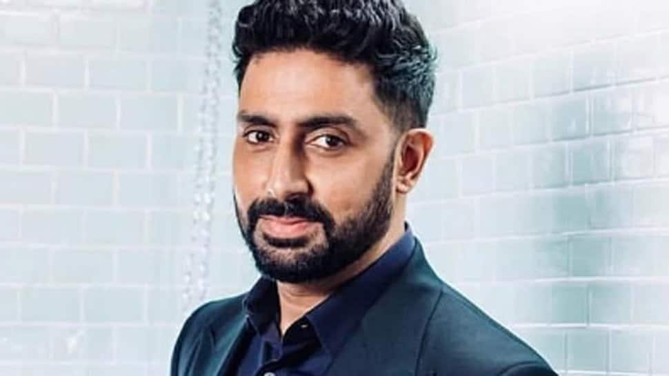 Abhishek Bachchan takes a late-night walk in the hospital