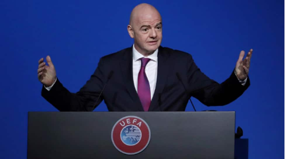 Former FIFA chief Sepp Blatter calls for suspension of his successor Gianni Infantino
