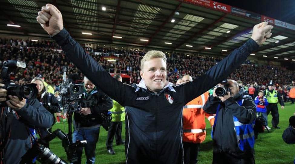 Manager Eddie Howe leaves AFC Bournemouth after Premier League relegation