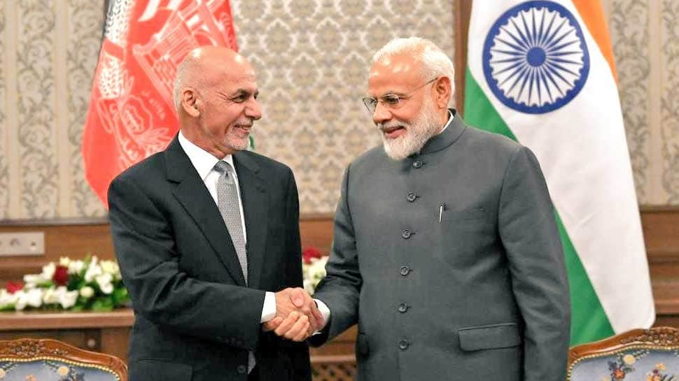 PM Narendra Modi, Afghanistan President Ashraf Ghani discuss evolving security situation