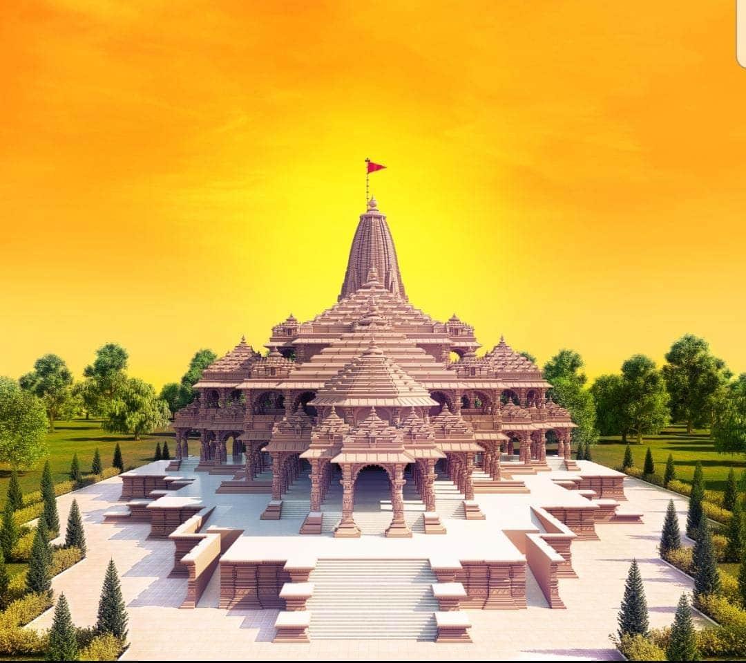 Shri Ram Janmabhoomi Mandir in Ayodhya