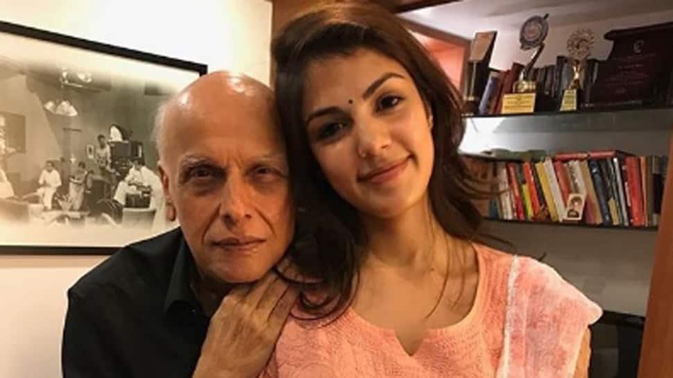 Rhea Chakraborty's call details reveal she talked to Mahesh Bhatt 16 times and Aditya Roy Kapur 23 times in last one year