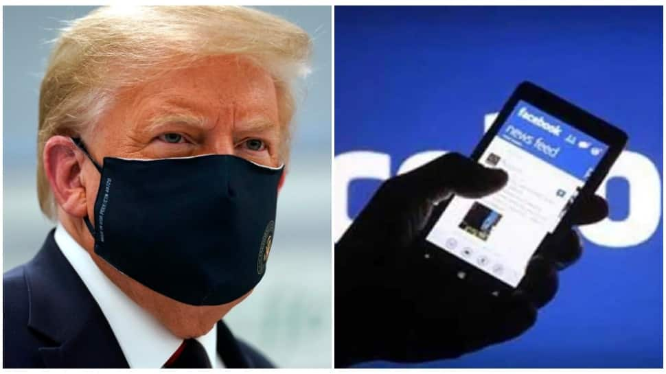 Facebook removes accounts promoting US President Donald Trump re-election in Romania