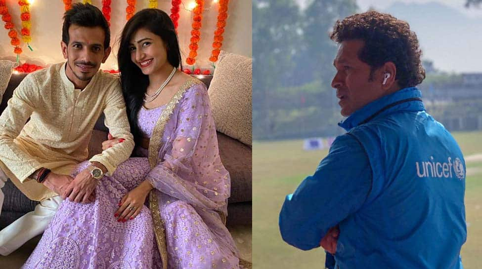 Sachin Tendulkar, Virender Sehwag lead wishes after Yuzvendra Chahal announces engagement