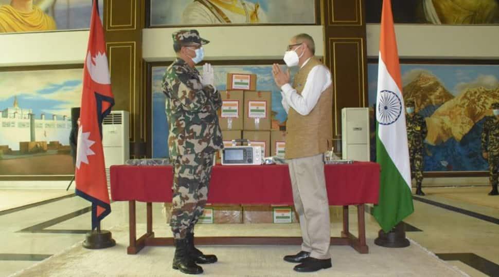 Indian Army gifts 10 ICU ventilators to Nepali Army to tackle coronavirus COVID-19 pandemic