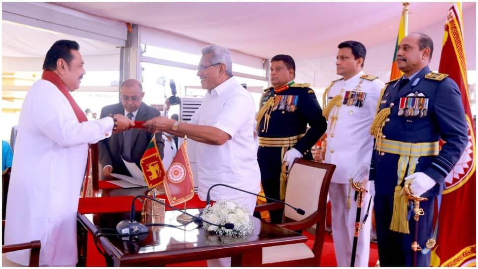 Mahinda Rajapaksa takes oath as Sri Lankan PM for fourth time