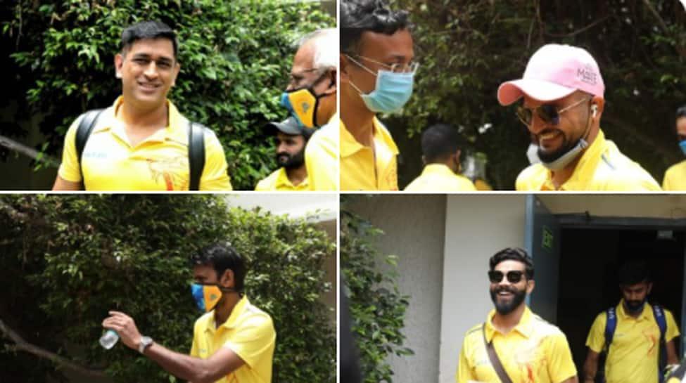Indian Premier League 2020: Skipper Mahendra Singh Dhoni, other Chennai Super Kings players depart for UAE