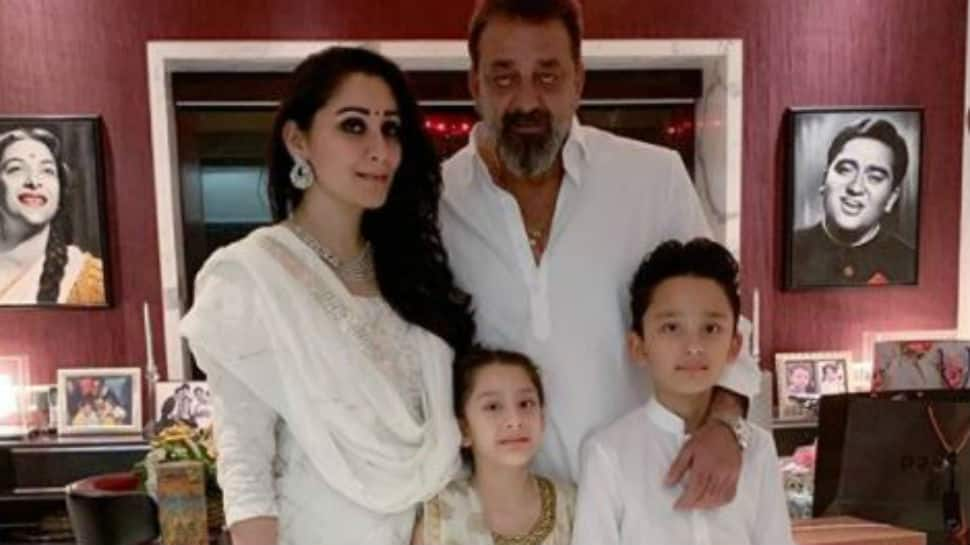 Sanjay Dutt's wife Maanayata shares adorable photo of ...
