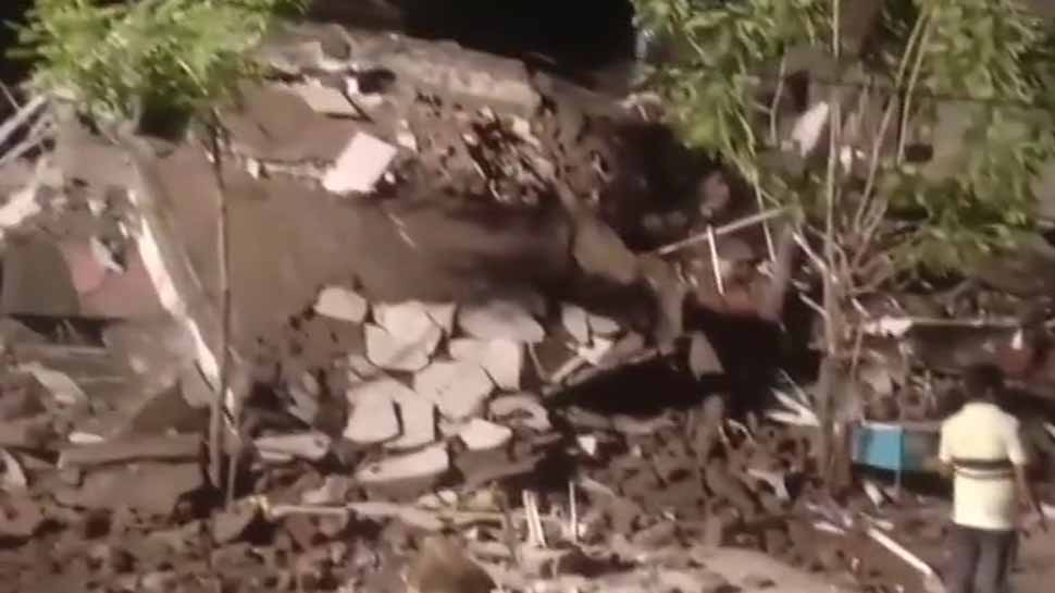 4-storey residential building collapses in Maharashtra's Palghar; no casualty reported