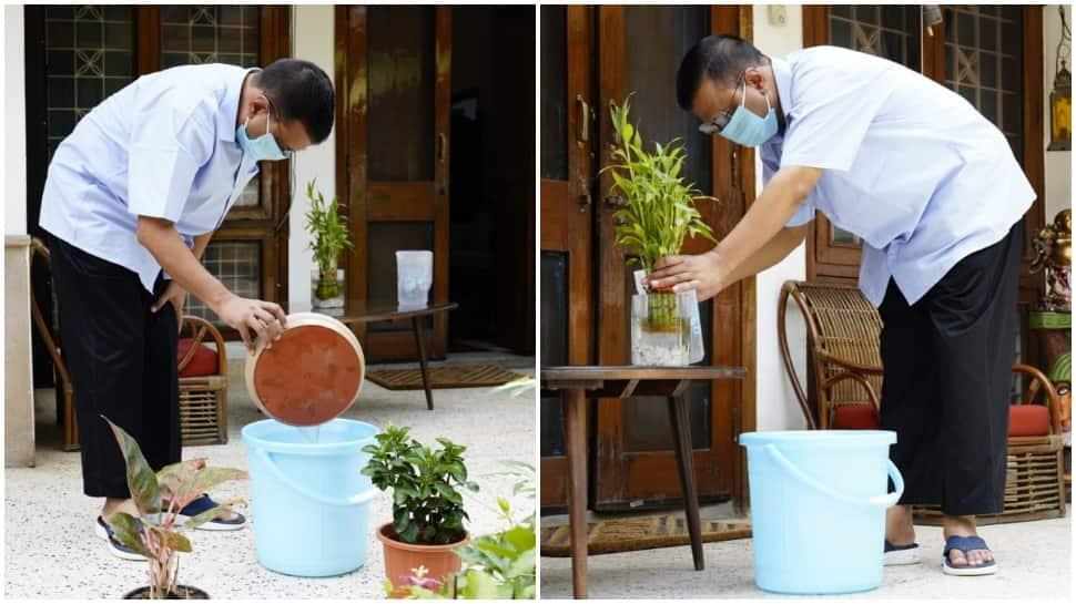 CM Arvind Kejriwal starts 10-week anti-dengue campaign in Delhi