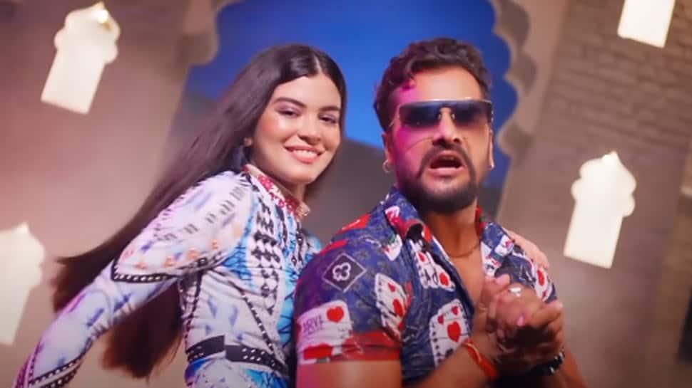 Bhojpuri superstar Khesari Lal Yadav's latest song 'Ladki Patana' hits YouTube - Watch