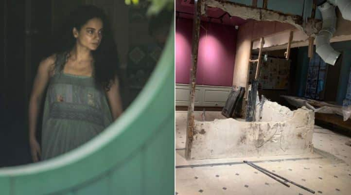 Kangana Ranaut shares pics of her demolished Mumbai office, says this 'rape of my dreams, self-esteem'