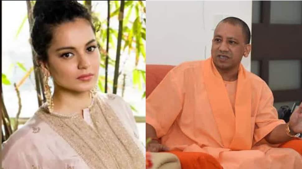 Kangana Ranaut applauds UP CM Yogi Adityanath for announcing 'biggest film city' in Noida