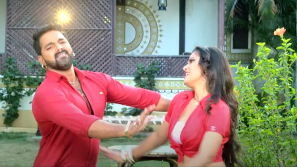 Pawan Singh and Nidhi Jha's throwback superhit Bhojpuri song 'Luliya Ka Mangele' sets YouTube on fire- Watch