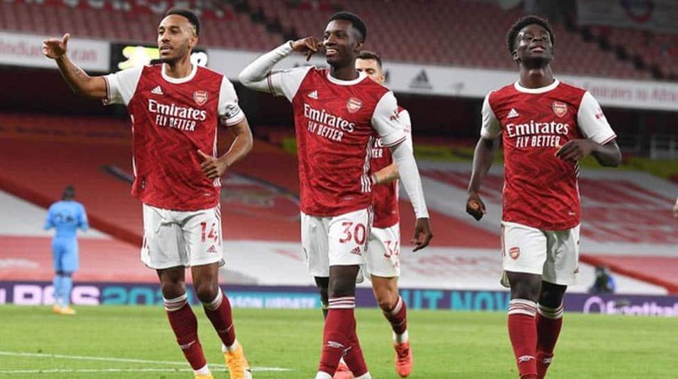 Premier League: Late Eddie Nketiah strike gives Arsenal 2-1 win over West Ham