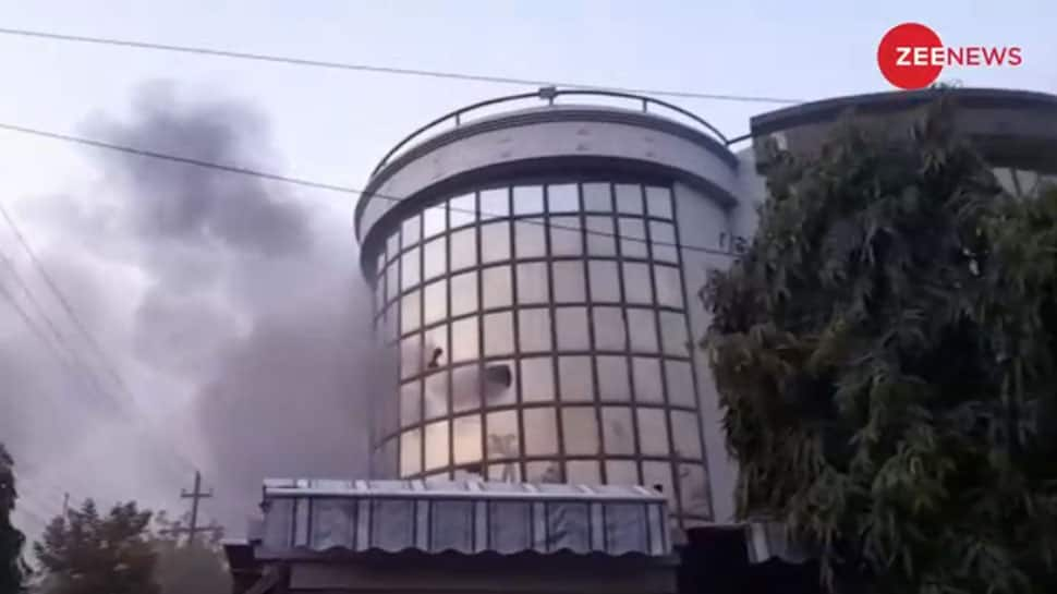 Major fire breaks out in building of private firm in Noida's Sector 59