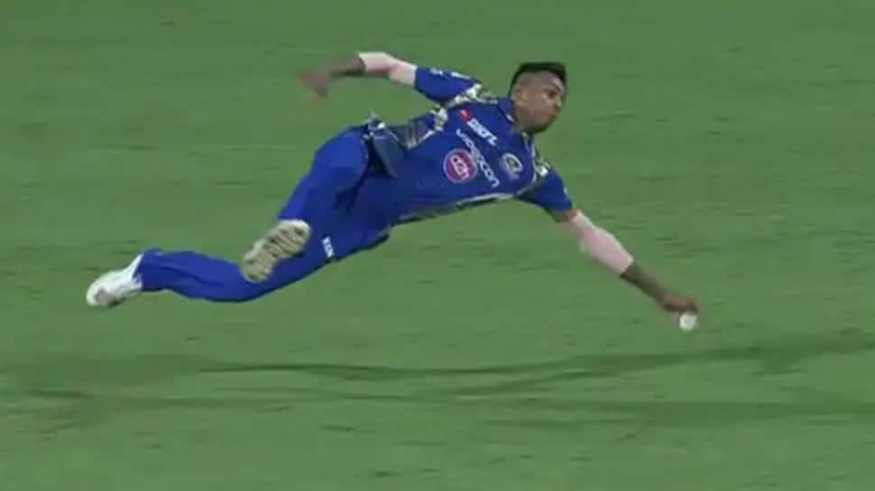 IPL 2020: Hardik Pandya slams Jasprit Bumrah for not diving to stop the ball, here's how netizens reacted