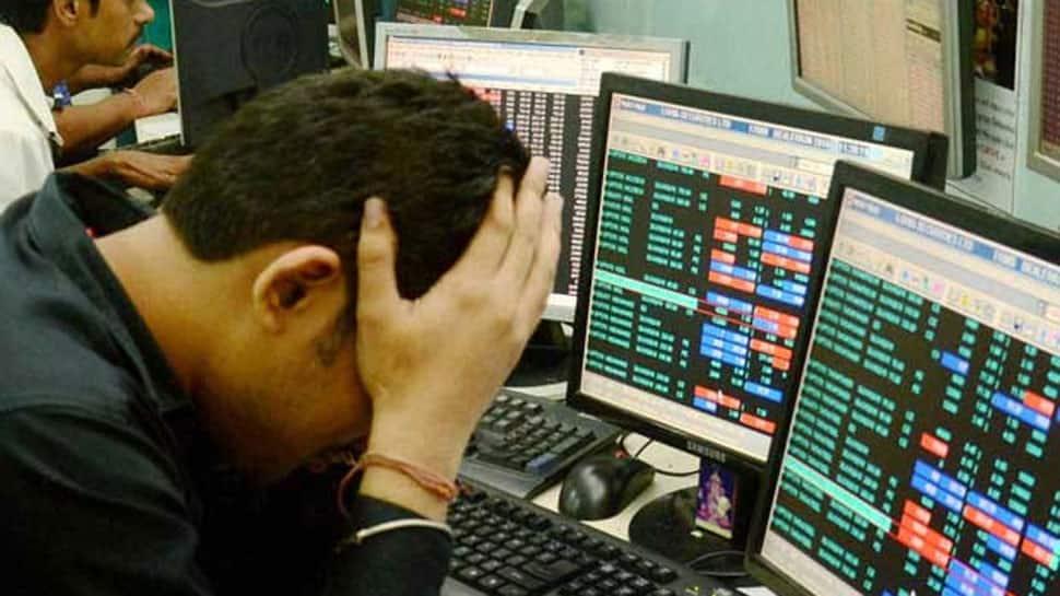 Sensex crashes 1,115 points, Nifty tests 10,800