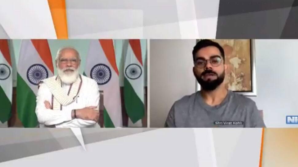 PM Narendra Modi teases Virat Kohli on his love for Delhi's Chole Bhature