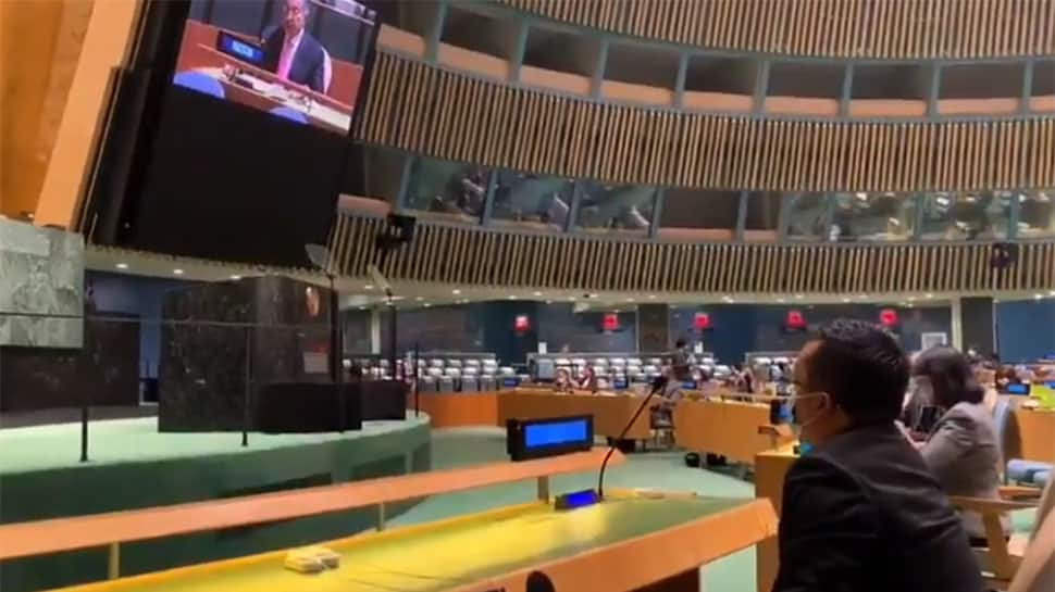 Indian delegate walks out of UNGA hall during Pakistan PM Imran Khan's speech; calls it 'new diplomatic low'