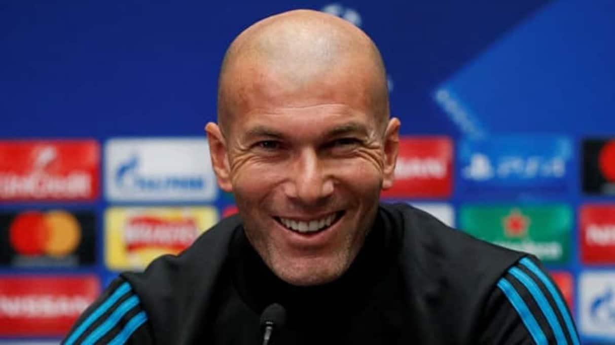 Real Madrid manager Zinedine Zidane reaches 100 La Liga wins milestone