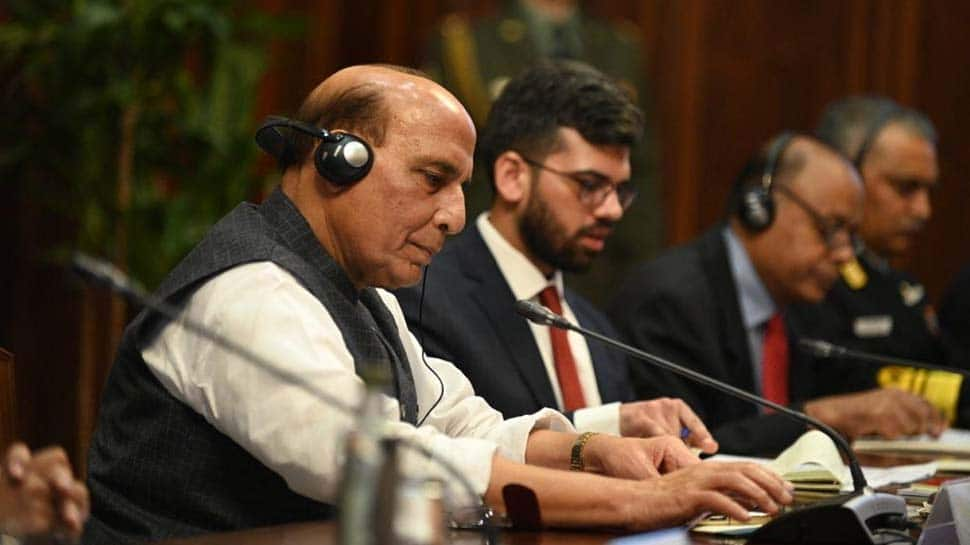 Union Defence Minister Rajnath Singh lays foundation for construction of underpasses to join IMA Dehradun campuses